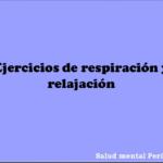 Ejercicios de respiración y relajación