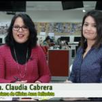 Entrevista a la Dra. Claudia Cabrera.